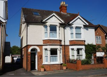 Thumbnail 4 bed semi-detached house for sale in Weir Road, Chertsey