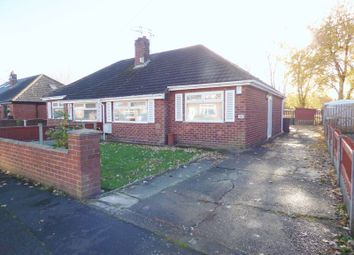 Thumbnail 2 bed semi-detached bungalow for sale in Barnes Avenue, Fearnhead, Warrington