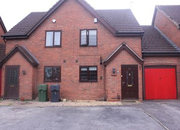 Thumbnail 2 bed mews house to rent in Rowan Close, Hollywood, Birmingham