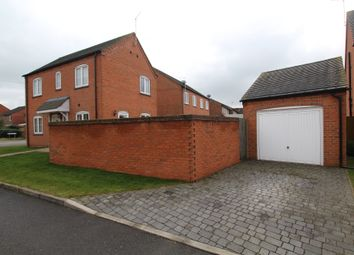 Thumbnail 3 bed detached house for sale in Cotes Road, Burbage, Hinckley