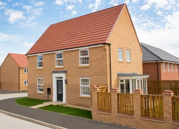 "Thumbnail 4 bedroom detached house for sale in ""Cornell"" at Ackworth Road, Pontefract"