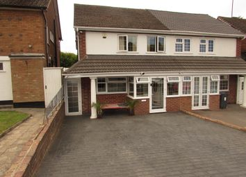 Thumbnail 3 bed semi-detached house for sale in Wheaton Vale, Handsworth Wood