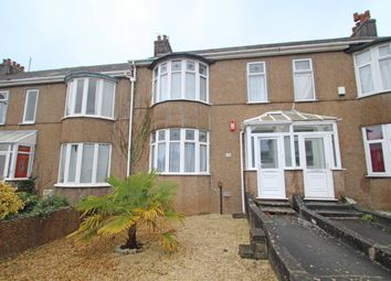 Thumbnail 3 bed terraced house for sale in Dale Road, Mutley, Plymouth, Devon