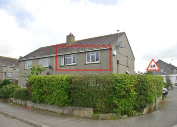Thumbnail 1 bed flat to rent in Trelawney Road, Helston