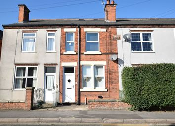 Thumbnail 3 bed terraced house for sale in High Street, Swanwick, Alfreton, Derbyshire