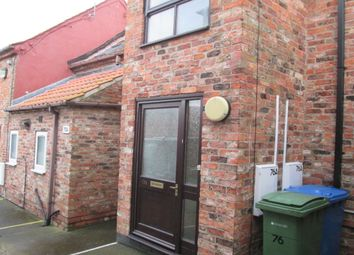 Thumbnail 2 bedroom flat to rent in Flatgate, Howden, Goole