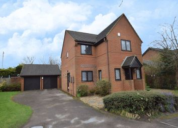 Thumbnail 4 bed detached house for sale in Statham Close, Luton