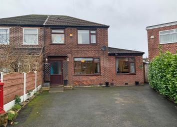 Thumbnail 3 bed semi-detached house for sale in Redesmere Park, Urmston, Manchester