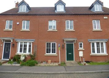 Thumbnail 4 bedroom terraced house for sale in Horseshoe Way, Hampton Vale, Peterborough