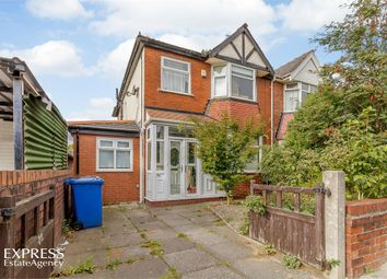 Thumbnail 4 bed semi-detached house for sale in Warwick Road South, Firswood, Manchester