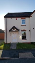 Thumbnail 3 bed semi-detached house to rent in Sandfield Meadow, Chesterfield, Lichfield, Staffordshire