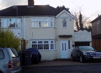 Thumbnail 3 bed semi-detached house for sale in Cottesbrook Road, Acocks Green, Birmingham