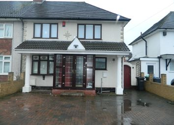Thumbnail Semi-detached house to rent in Remembrance Road, Wednesbury
