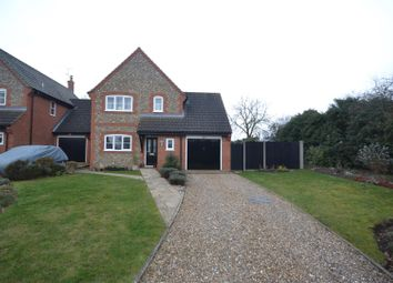 Thumbnail 4 bed detached house for sale in William Road, Fakenham