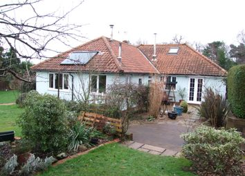 Thumbnail 3 bed detached bungalow for sale in Glemham Road, Sweffling, Saxmundham