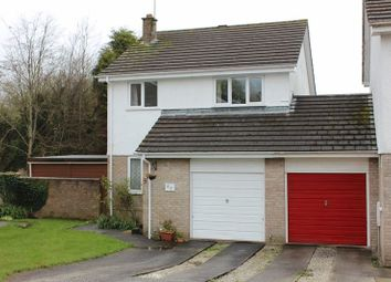 Thumbnail 3 bed link-detached house for sale in St. Pirans Close, Trewoon, St. Austell