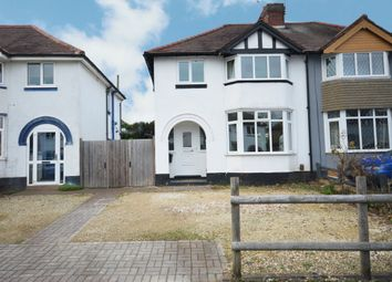 Thumbnail 3 bed semi-detached house for sale in Cheshire Avenue, Shirley, Solihull