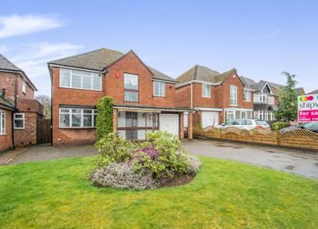Thumbnail 4 bed detached house for sale in Woodlea Drive, Solihull