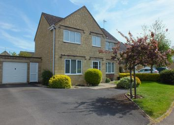 Thumbnail 4 bed detached house for sale in Cranhams Lane, Cirencester