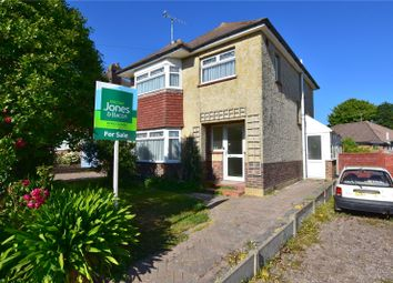 Thumbnail 3 bed detached house for sale in Griffiths Avenue, North Lancing, West Sussex