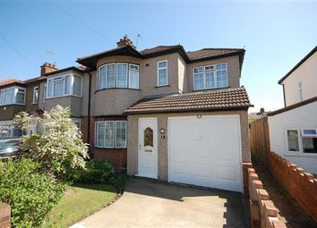 Thumbnail 4 bed semi-detached house for sale in Brixham Crescent, Ruislip Manor, Ruislip
