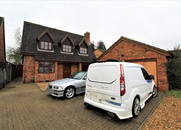Thumbnail 4 bed detached house for sale in Tithe Farm Close, Langford, Biggleswade