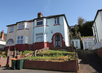 Thumbnail 3 bed semi-detached house for sale in East Grove Road, Newport