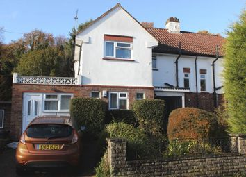 Thumbnail 6 bed semi-detached house to rent in Spring Rise, Englefield Green, Egham