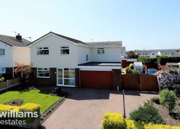 Thumbnail 4 bed detached house for sale in Carlines Avenue, Ewloe, Deeside