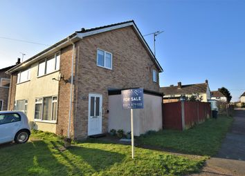 Thumbnail 3 bed semi-detached house for sale in Watts Close, Barnston, Dunmow