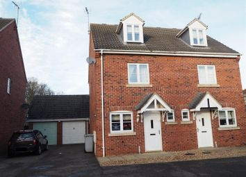 Thumbnail 3 bed semi-detached house for sale in Stirling Drive, Coddington, Newark