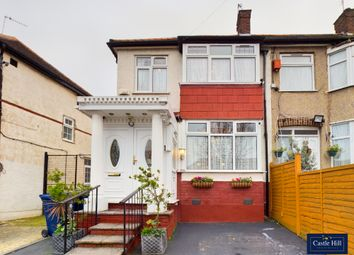 Thumbnail 3 bed end terrace house for sale in Westbury Avenue, Greenford, London