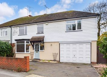 Thumbnail 4 bed semi-detached house for sale in Millstrood Road, Whitstable, Kent