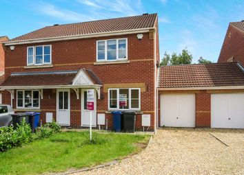 Thumbnail 2 bedroom semi-detached house for sale in Eastholm, Lincoln