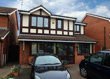 Thumbnail 5 bed detached house to rent in Fordham Grove, Wolverhampton