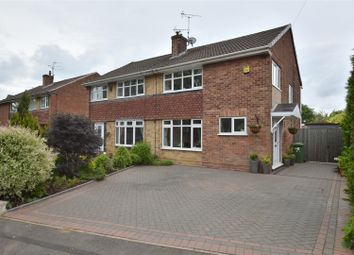 Thumbnail 3 bed semi-detached house for sale in Devonshire Drive, Duffield, Belper