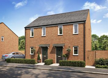"Thumbnail 1 bedroom semi-detached house for sale in ""The Morden"" at Newlands Drive, Grove, Wantage"