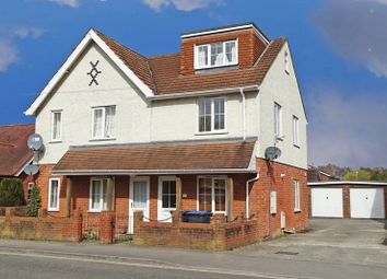 Thumbnail 3 bed maisonette for sale in Netherhampton Road, West Harnham, Salisbury