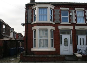 Thumbnail 3 bed end terrace house to rent in Fairburn Road, Tuebrook, Liverpool