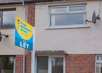 Thumbnail 4 bedroom end terrace house to rent in Windyhall, Coleraine