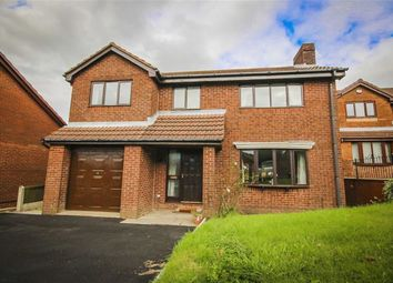 Thumbnail 4 bedroom detached house for sale in Foxwell Close, Haslingden, Lancashire