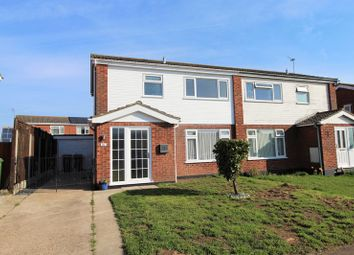 Thumbnail 3 bed semi-detached house for sale in Woodstock Way, Martham, Great Yarmouth