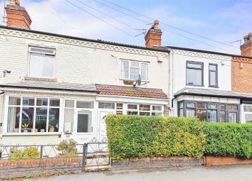 Thumbnail 3 bed terraced house for sale in York Road, Kings Heath, Birmingham