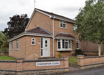 Thumbnail 3 bed detached house for sale in Chadderton Close, Knighton, Leicester