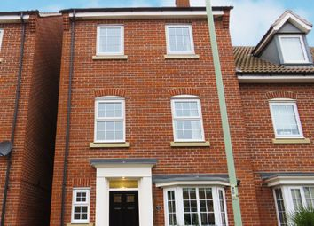 Thumbnail 4 bed town house for sale in Hundred Acre Way, Red Lodge, Bury St. Edmunds
