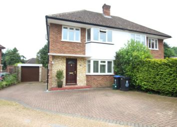 Thumbnail 3 bed semi-detached house to rent in St. James Close, Woking