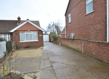 Thumbnail 2 bed semi-detached bungalow for sale in Brigg Road, Messingham, Scunthorpe