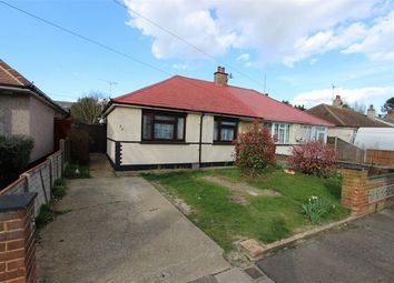 Thumbnail 2 bed semi-detached bungalow for sale in Wells Avenue, Southend-On-Sea, Essex