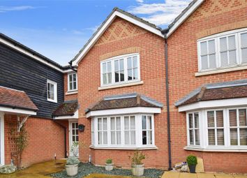 Thumbnail 3 bed terraced house for sale in White Willow Close, Ashford, Kent