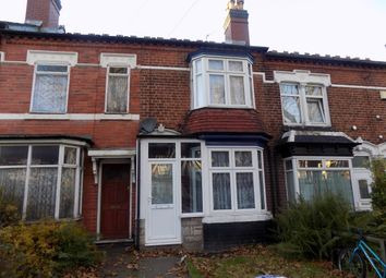 Thumbnail 2 bed terraced house for sale in Windermere Road, Handsworth Wood, Birmingham